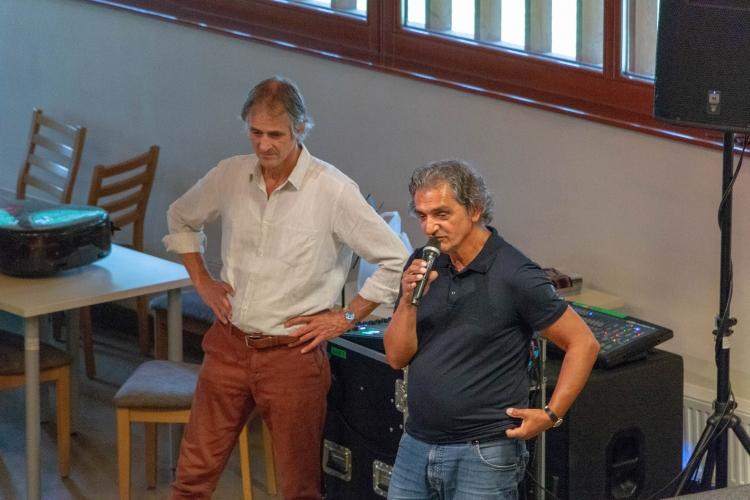 Markus Stockhausen látogatása a központban