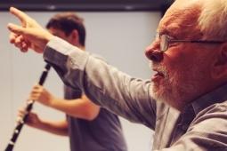Clarinet lesson - László Kraszna