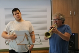 Trumpet lesson with István Fekete