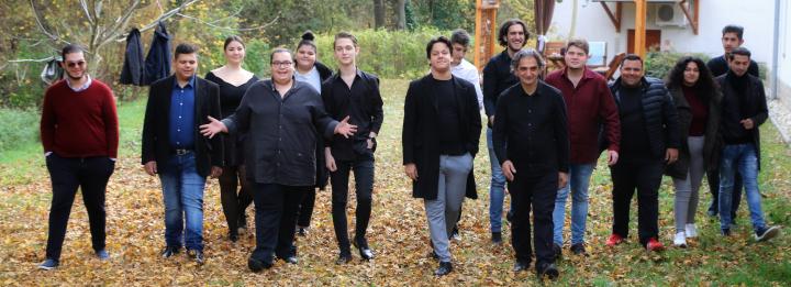 Diákjaink koncertje a Magyar Rádió Márványtermében