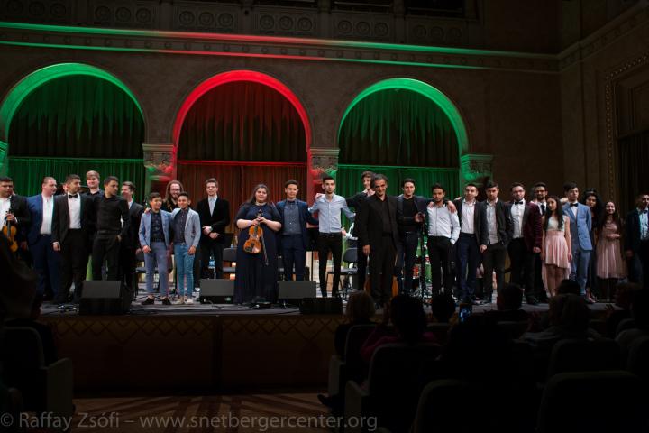 Nagysikerű koncerttel zártuk a 8. évfolyamot a Vigadóban
