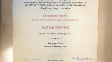 Magyar Örökség Díj